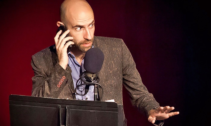 """Welcome to Night Vale - Warner Grand Theatre: """"Welcome To Night Vale"""" at Warner Grand Theatre on April 20 at 8 p.m. (Up to 56% Off)"""