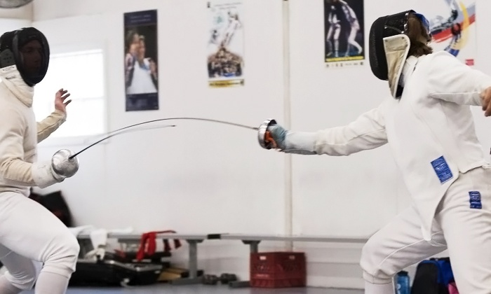 DC Fencers Club - Silver Spring: Four Beginner Classes for One or Two Kids at DC Fencers Club (Up to 54% Off). Four Options Available.