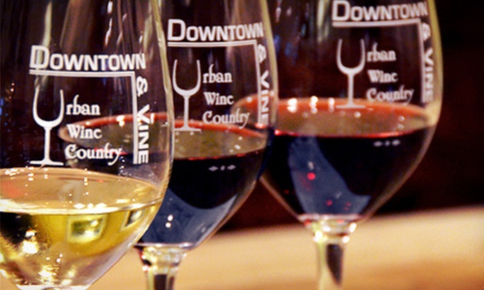 Downtown & Vine - Downtown: Wine Flights and Charcuterie Plates for Two or Four at Downtown & Vine (Up to 54% Off)