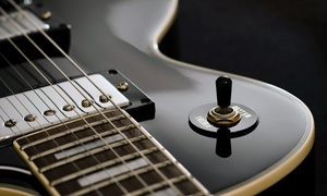 Rock Inc.: $65 for Four Weekly 30-Minute Music Lessons at Rock Inc. ($125 Value)