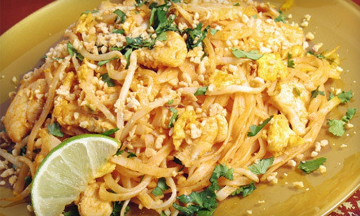 Phuket Thai Cuisine - Webster: $12 for $25 Worth of Authentic Thai Dinner Fare at Phuket Thai Cuisine in Webster