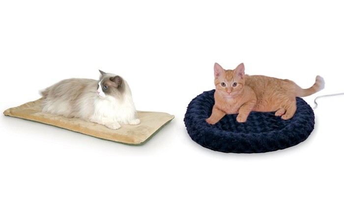 K&H Thermo-Kitty Beds: K&H Thermo-Kitty Mat or Fashion Splash from $24.99–$25.99. Multiple Colors Available. Free Returns.