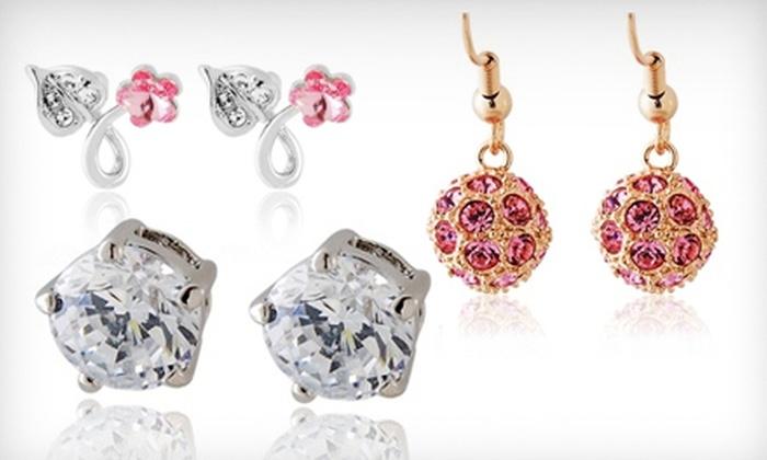 VividScent.com: Swarovski Crystal Earrings, Bracelet, or Necklace from Vividscent (Up to 58% Off)