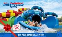 WetnWild Sydney: Premium Season Pass ($104) or Ultimate Season Pass ($114)
