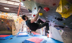 Central Rock Gym: One-Month Climbing Membership or One Day Pass with Gear Rental at Central Rock Gym (Up to 46% Off)