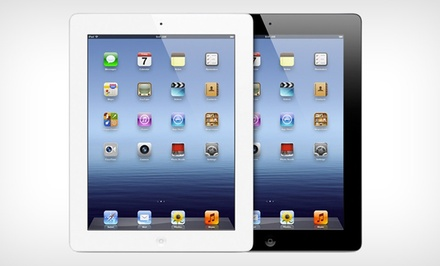 groupon daily deal - Apple 16GB iPad 2 in Black or White with WiFi and 3G AT&T. Free Returns.
