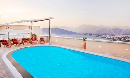 Fujairah: 1 Night For 2 With Breakfast; With Option For Half Board or Full Board and Wi-Fi at Nour Arjaan By Rotana