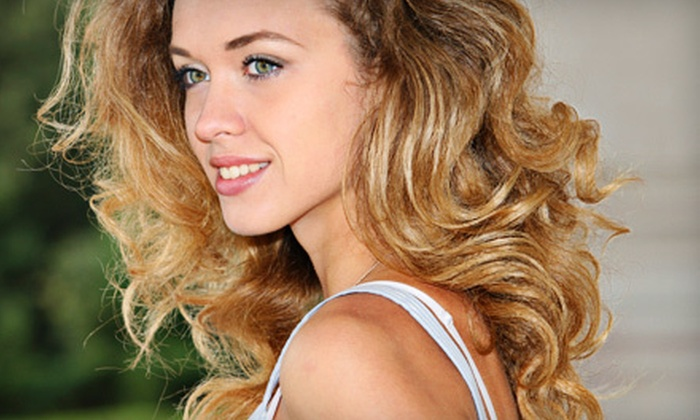 Great Scott Salon - Cedar Park: Haircut with Optional Deep Conditioner, Partial Highlights, and Gloss at Great Scott Salon in Cedar Park (Up to 72% Off)