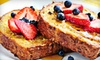 The Corner Kitchen and Bar - Bay Ridge & Fort Hamilton: Brunch with Entrees, Sides, and Mimosas for Two or Four at The Corner Kitchen & Bar (Up to 67% Off)