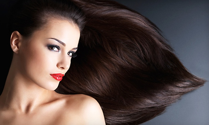 Salon Icon - Multiple Locations: Haircut and Conditioning with Optional Partial, Half-Head, or Ombre Highlights at Salon Icon (Up to 67% Off)