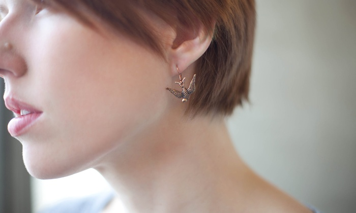 The Colour Bar - Chilliwack Proper Village West: Nose or Ear Piercing with Jewelry at The Colour Bar (Up to 58% Off)