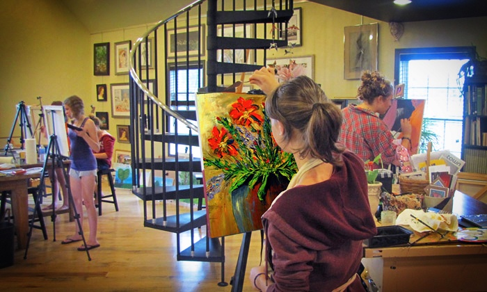Donna McCafferty & Co., Koi Studio - Plumstead: Four or Two Weeks of Art Classes at Donna McCafferty & Co., Koi Studio (48% Off)