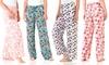 Intimo Women's Printed Knit Sleep Pants: Intimo Women's Printed Knit Sleep Pants. Multiple Styles Available. Free Returns.
