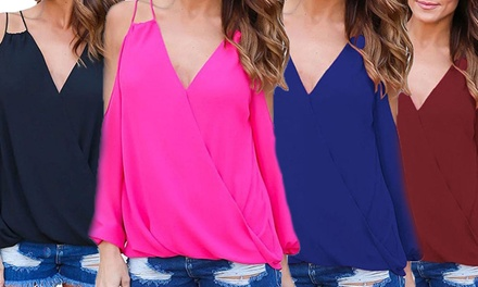 One $19 or Two $29 Women's Cross Front Tops