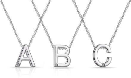 Philip Jones Initial Necklace