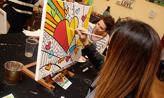 Canvas Crush Painting Parties - CoraL Springs: Two-Hour Painting Parties for 1, 2, or 10 at Canvas Crush Painting Parties (Up to 56% Off)