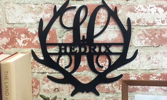 Up To 51 Off Personalized Family Name Antler Signs