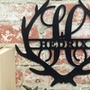 Up to 51% Off Personalized Family Name Antler Signs