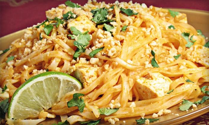 Reka's Thai Restaurant - White Plains: Authentic Thai Cuisine at Reka's Thai Restaurant (Up to 55% Off). Two Options Available.