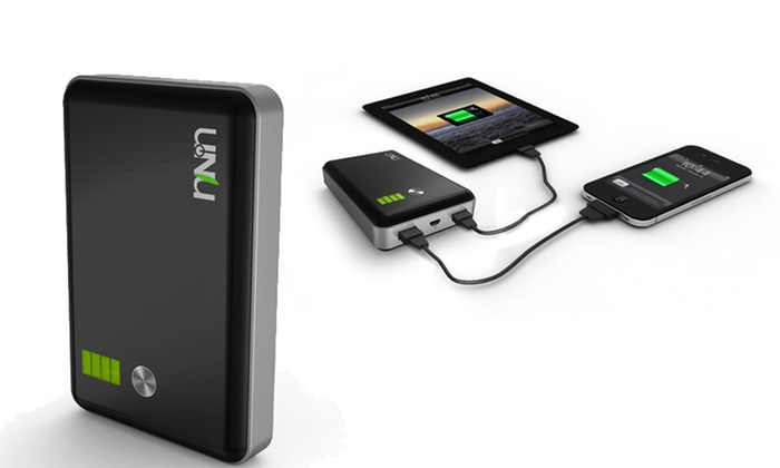 uNu Enerpak 11,000mAh Battery Pack: uNu 11,000mAh Portable Battery Pack for Smartphones and Tablets. Free Shipping and Returns.