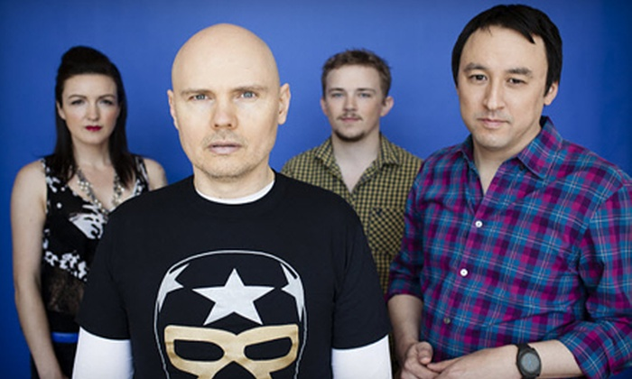 The Smashing Pumpkins - Fourth Ward: $17 to See The Smashing Pumpkins at Time Warner Cable Uptown Amphitheatre on May 8 at 7:30 p.m. (Up to $34 Value)