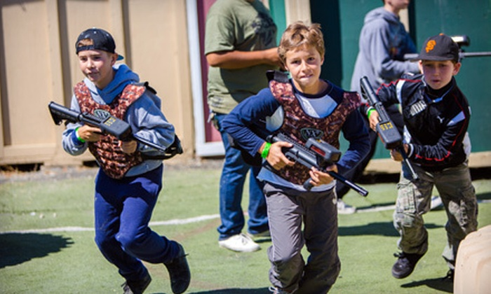 Norcal Laser Tag - South San Jose: Laser Tag for Four or Six at Norcal Laser Tag (Half Off)