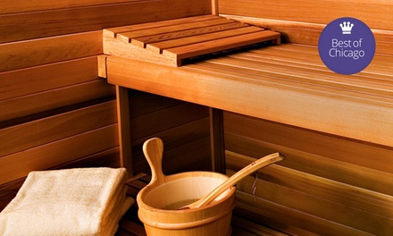 A Day at the King Spa and Sauna (Up to 46% Off). Two Options Available.