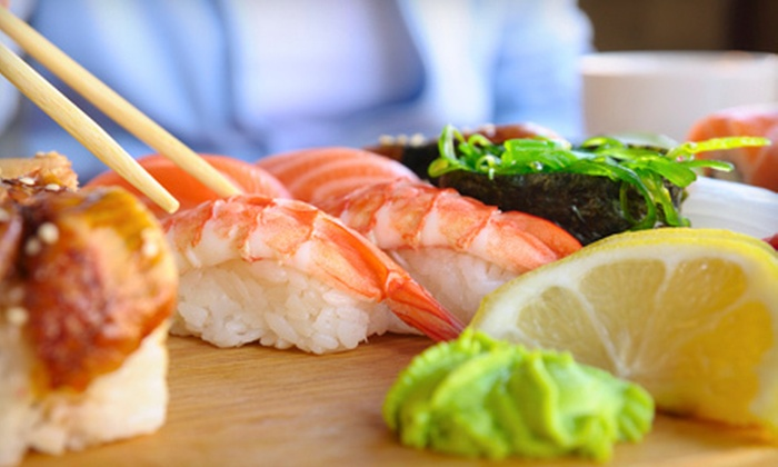 Sushi Box - Waltham : $15 for $30 Worth of Sushi and Pan-Asian Fare for Dinner at Sushi Box in Waltham