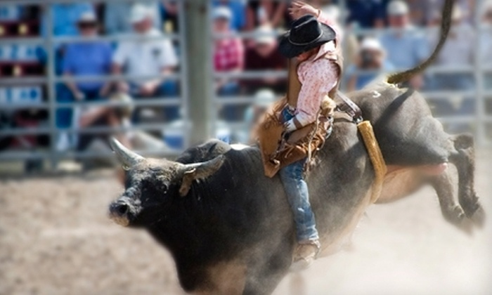 The Tom Thumb Texas Stampede Rodeo - Allen: The Tom Thumb Texas Stampede Rodeo Show for Two or Four with VIP Concert Options at Allen Event Center (Up to 72% Off)