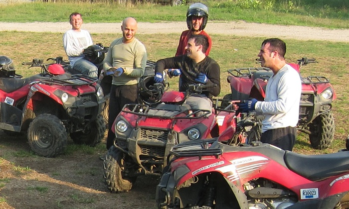 Dirt Ventures ATV Rentals of NH, LLC - Multiple Locations: Two- or Four-Hour Guided ATV Tour from DirtVentures ATV Rentals (58% Off)