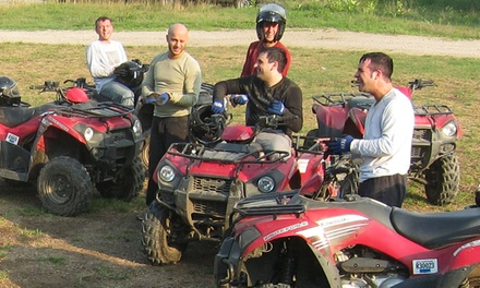 Two- or Four-Hour Guided ATV Tour from DirtVentures ATV Rentals (58% Off)