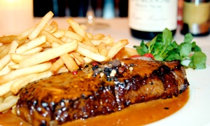 Mon Petit Cafe: French Food and Drinks for Two or Four at Mon Petit Cafe (31% Off)