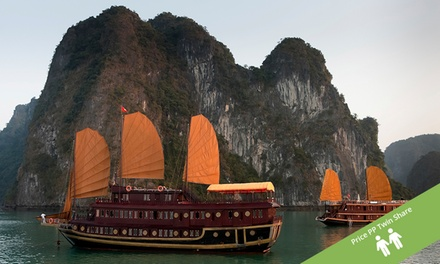 Vietnam: SevenDay North Vietnam Tour with Accommodation, Overnight Cruise, Kayaking and Some Meals with Getaway Hanoi