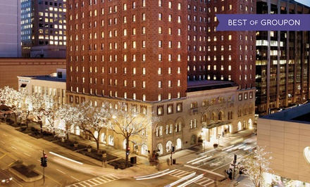 groupon daily deal - Stay at Warwick Allerton Hotel Chicago, with Dates into March