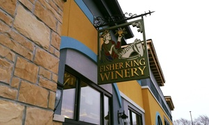Up to 42% Off Wine Tasting at Fisher King Winery at Fisher King Winery, plus 6.0% Cash Back from Ebates.