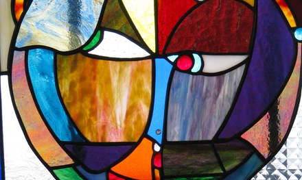 Tiffany-Style Kaleidoscope or Stained-Glass Class at Glass Addicts, LLC (Up to 50% Off)