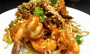 Taste of Thailand: Thai Food for Lunch or Dinner at Taste of Thailand (Up to 40% Off). Two Options Available.