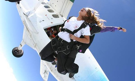 One or Two Groupons, Each Good for One Tandem Jump from Cincinnati Skydiving (50% Off)