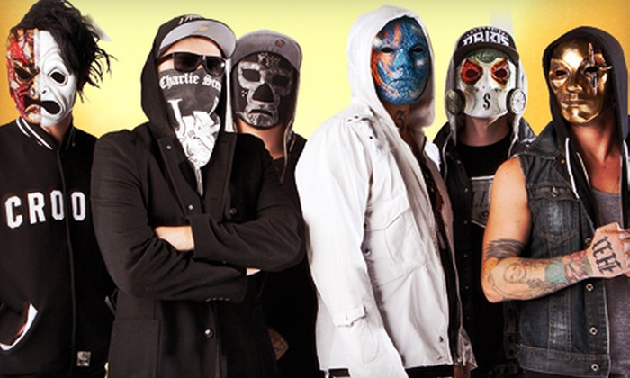 HOB 20th Anniversary Presents Hollywood Undead Concert Package - Wallingford: HOB 20th Anniversary Presents Hollywood Undead with Escape the Fate on Friday, July 12, at 6:30 p.m. (Up to $68 Value)