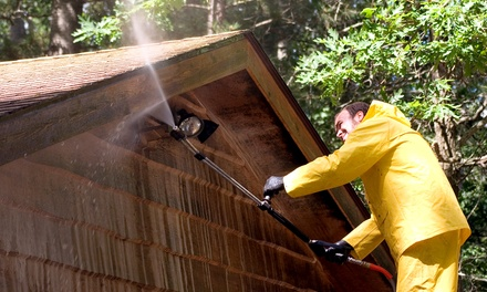 Power-Washing for a One- or Two-Story House from Palm Beach Property Pros Inc (Up to 54% Off). Four Options.