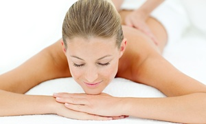 Sakura Touch: Swedish Massage with Option for Aromatherapy, Foot Scrub, and Facial and Scalp Massages at Sakura Touch (Up to 36% Off)