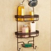 Bath Bliss Oil-Rubbed Bronze Ocean Shower Caddie