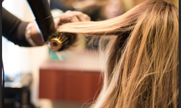 Smileys Glam Studio - North Brunswick: Color and Blow-Dry from Smileys glam studio (45% Off)