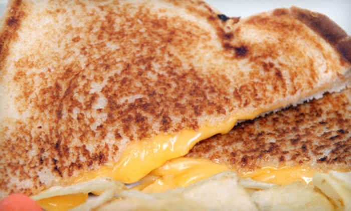 GreenGo Grilled Cheese Gastro Truck - Hillcrest: Gourmet Grilled Cheese Sandwiches for Two or Four at GreenGo Grilled Cheese Gastro Truck (Up to 48% Off)
