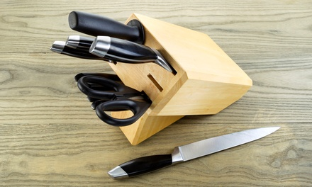 One Sharpening Session of Ten Knives, Six Garden, or Eight Sewing Tools at Ron Berman Sharpening (Up to 56% Off)