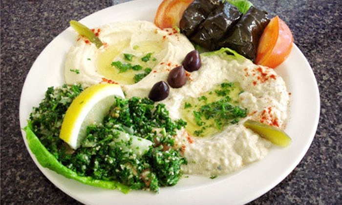 Prince Lebanese Grill - Town North: $8 for $16 Worth of Lebanese Dinner Cuisine and Drinks at Prince Lebanese Grill