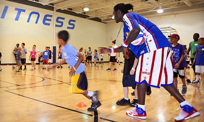 Harlem Globetrotters Summer Skills Clinic - Multiple Locations: $65 for a Two-Hour Harlem Globetrotters Basketball Clinic, Basketball, and Two Tickets to a 2014 Game (Up to $124 Value)