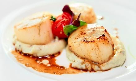 Menu en 5 services pour 2 ou 4 personnes dès 49,99 € au restaurant L'Entrain