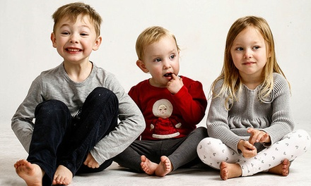 One-Hour Family or Headshot Photo Shoot with Five Retouched Digital Images from MooD-ology Photography (Up to 86% Off)