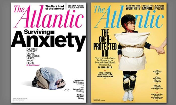The Atlantic Magazine: 1-Year Subscription to The Atlantic Magazine (10 Issues)